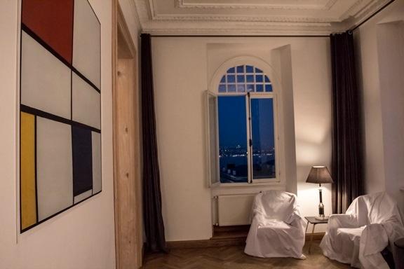 <p>a room from The Party and Les Nuits de la Pleine Lune</p>