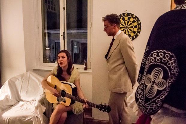 <p>Michele Monet and Bakshi</p>
