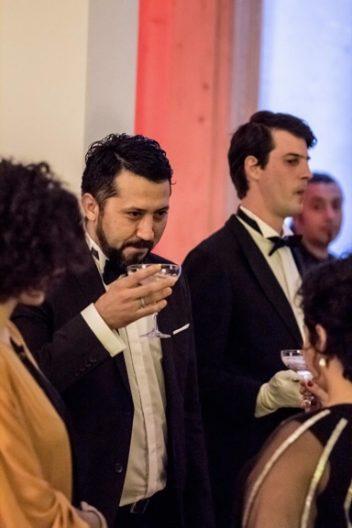 <p>Özkan Cangüven is Enrique Rabal as Edmundo Nobile with Julio the Mayordomo</p>