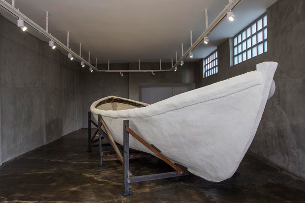 <p>Brian O'Connell, <i>Openings to the water...</i>, 2012, Installation, Protocinema, Istanbul.  Courtesy Protocinema, Istanbul/New York, Redling Fine Art, Los Angeles, photo - Batu Tezyüksel.</p>