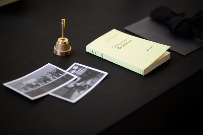 <p><i>Dîner Noire (environment, audio), </i>2014, Tristan Bera, Protocinema, Istanbul photo: Batu Tezyüksel</p>
