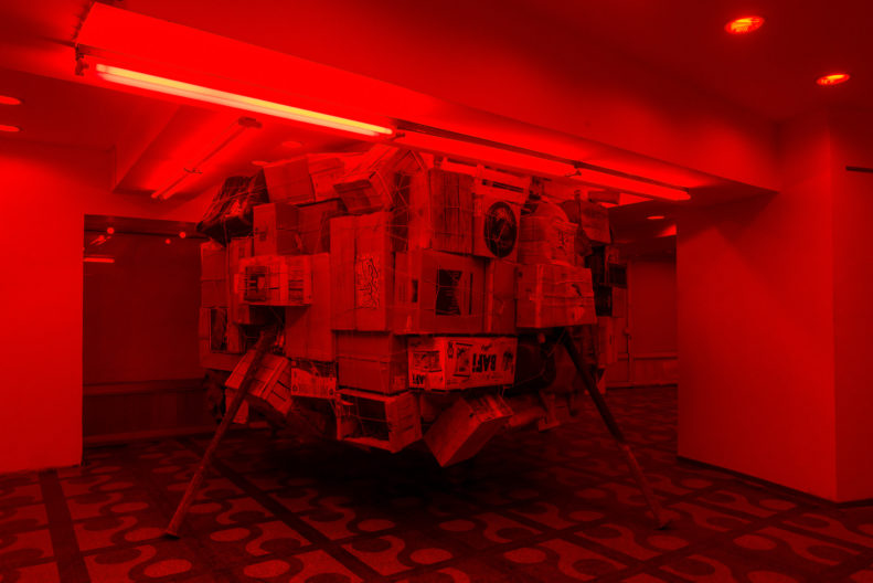 <p>Mike Nelson, <i>PROJEKTÖR (Gürün Han)</i>, 2019, commissioned and presented by Protocinema, Istanbul with support Henry Moore Foundation; Alserkal Arts Foundation; Galleria Franco Noero. </p>