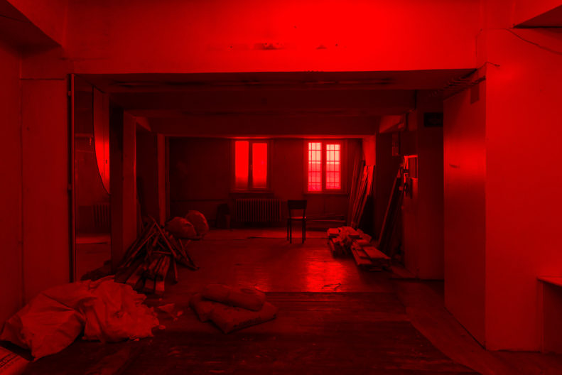 <p>Mike Nelson, <i>PROJEKTÖR (Gürün Han)</i>, 2019, commissioned and presented by Protocinema, Istanbul with support Henry Moore Foundation; Alserkal Arts Foundation; Galleria Franco Noero.<br /></p>
