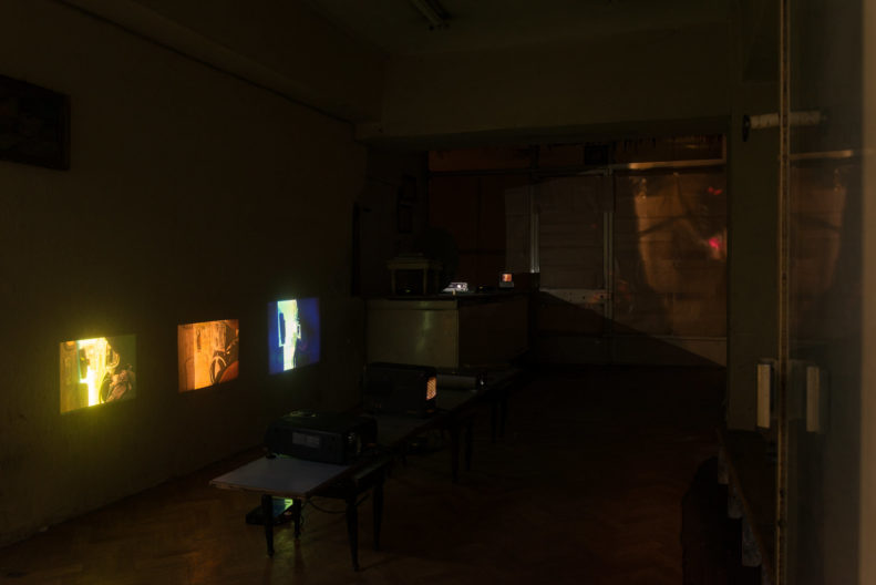 <p>Mike Nelson, <i>PROJEKTÖR (Gürün Han)</i>, 2019, commissioned and presented by Protocinema, Istanbul with support Henry Moore Foundation; Alserkal Arts Foundation; Galleria Franco Noero.</p>