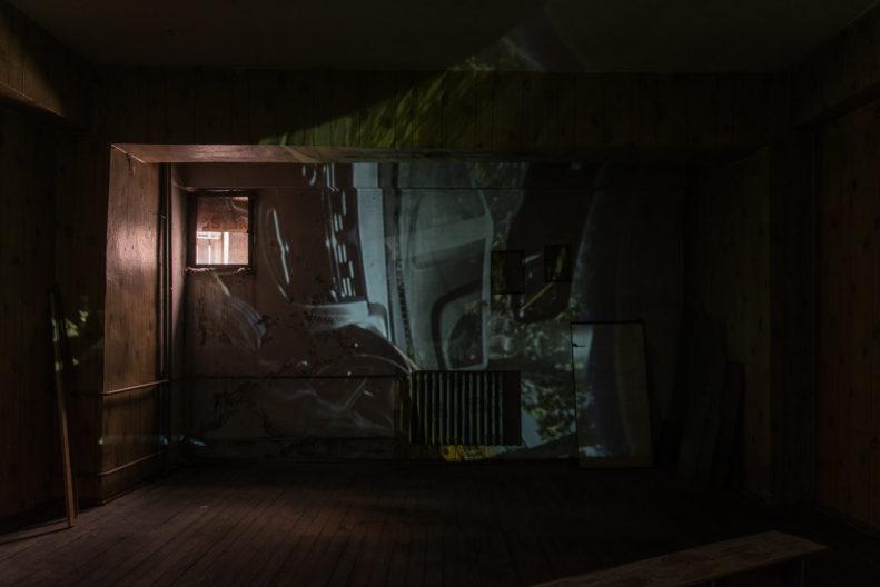<p>Mike Nelson, PROJEKTÖR (Gürün Han), 2019, Henry Moore Vakfı; Alserkal Sanat Vakfı; Galleria Franco Noero desteğiyle Protocinema, Istanbul tarafından üretilmiştir. </p>